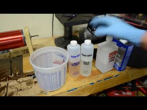 Tesla Coil Epoxy Coating Tips and Tricks