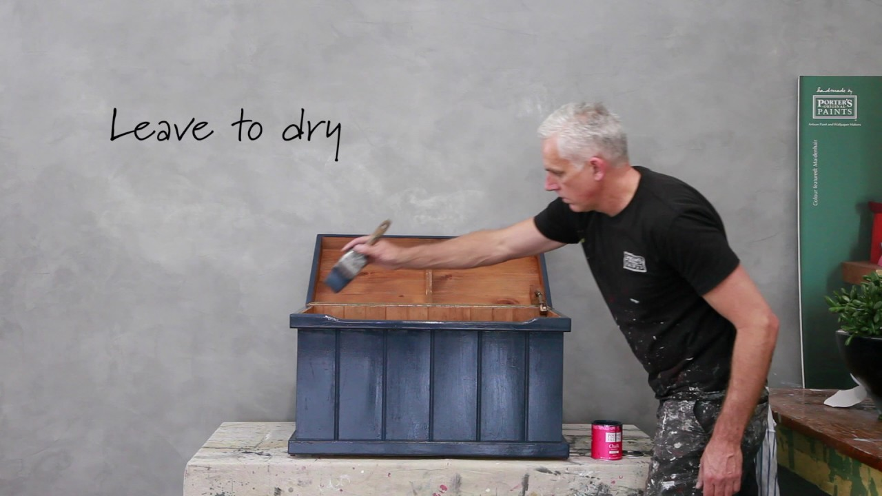 Porter S Paints How To Techniques With Chalk Emulsion Refined Results