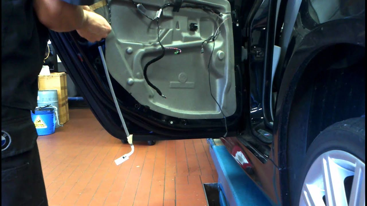 Bmw 5 Series E60 Rear Door Trim Removal How To Diy