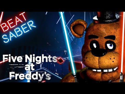 (Beat Saber) Five Nights At Freddy's 1 Song - The Living Tombstone