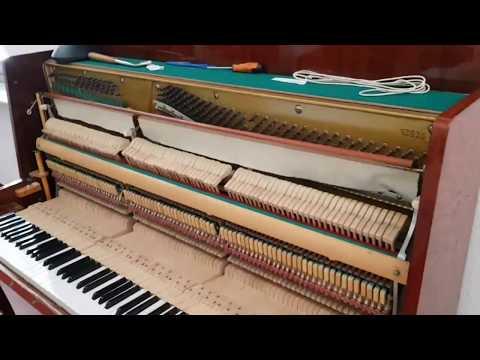 Accordare il pianoforte. Fallo da solo! Piano tuning. Do it yourself!