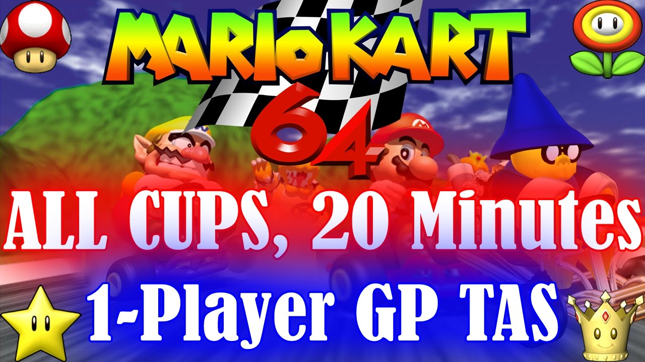 Tasvideos Submissions 5243 Weatherton S N64 Mario Kart 64 In 20 33 32