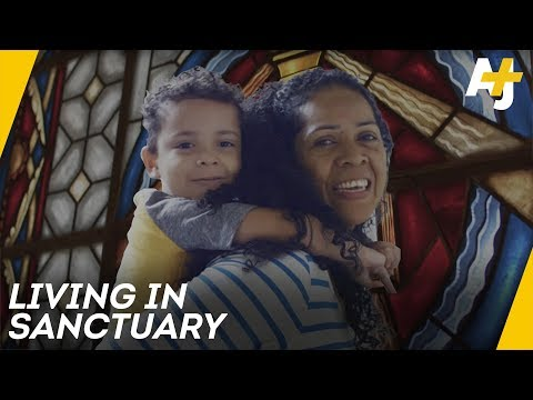 The North Carolina Church Sheltering Undocumented Immigrants | AJ+