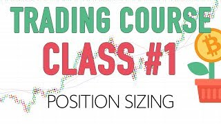 Money management (Position sizing) Risk vs Calculated Risk -  Level 2: Class 1 (30 day challenge)