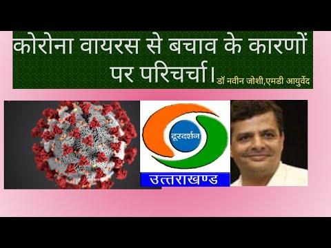 Dr Navin Joshi's Live Program On Dordarshan :Topic Covid & Ayurveda