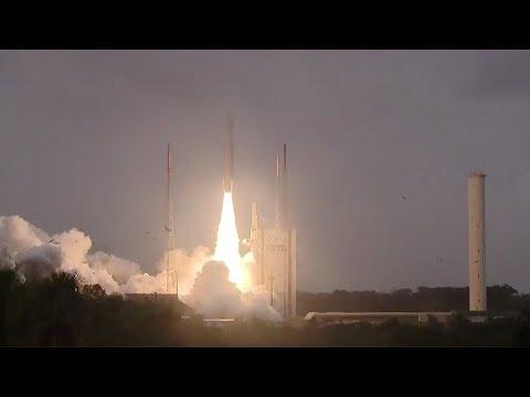 Ariane 5 ES launches Galileo FOC-M7 satellites