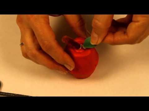 Bricolage Sur La Pomme Pour Les Enfants Youtube