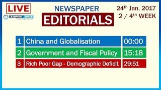 Editorial Discussion - 17