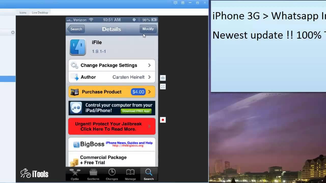 download whatsapp iphone 3g 4.2.1