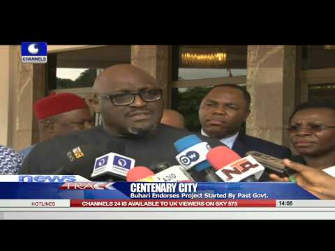 Buhari Endorses Centenary City Project   29/0/15