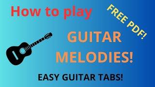 Fur Elise - Free guitar tablature sheet music