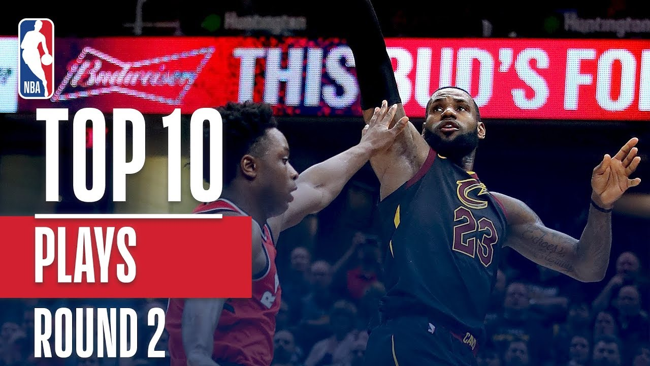 Top 10 Plays Of The 2018 Nba Playoffs Conference Semifinals Youtube