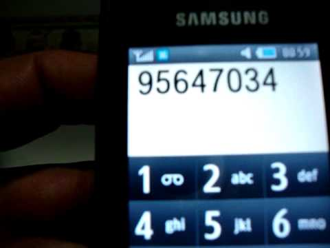 TELEFONO SAMSUNG GT S5620