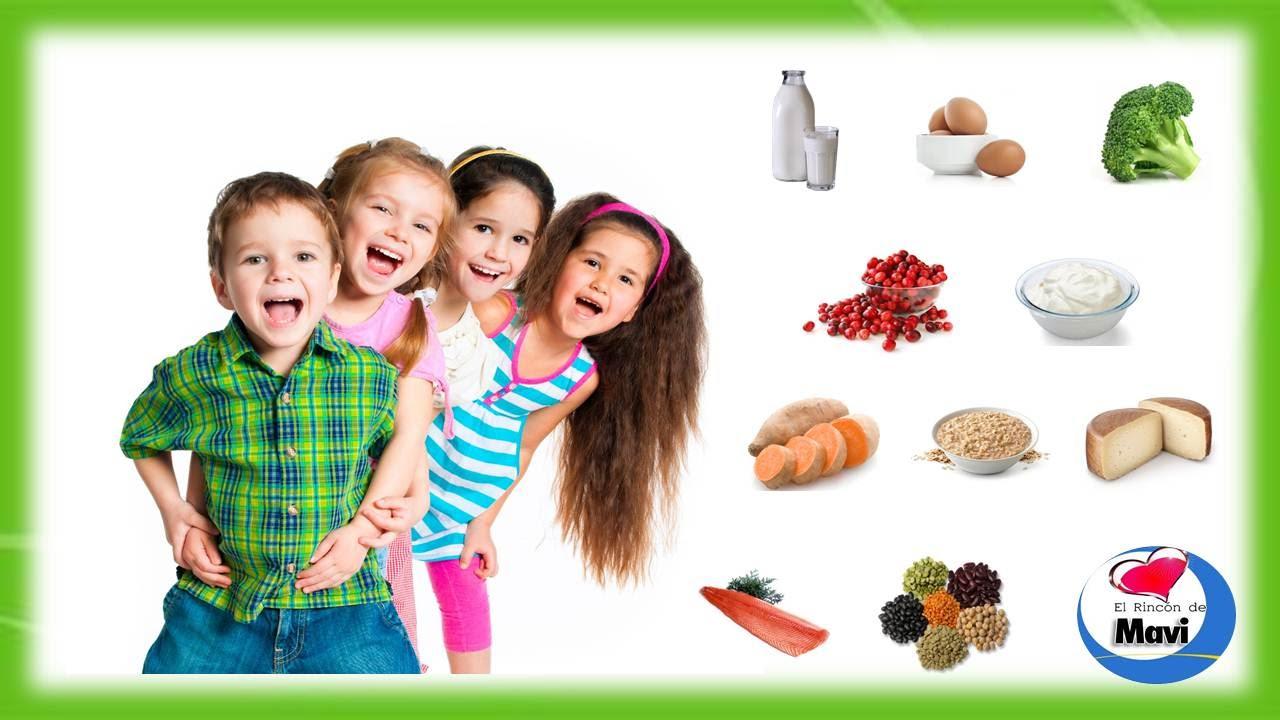 alimentos q hacen crecer a los ninos