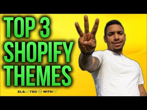 Shopify Themes: Highest Converting Free Shopify Themes of [2018]