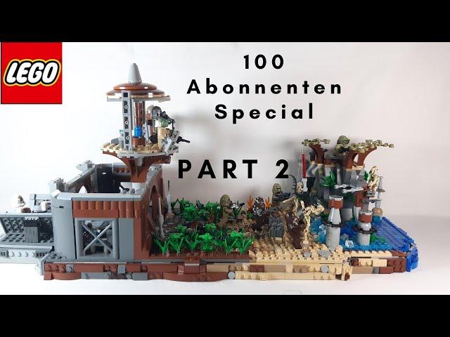 Lego Star Wars MOC auf Kashyyyk - 100 Abonnenten Special Part 2
