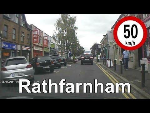 Dash Cam Ireland - Rathfarnham Village, Dublin