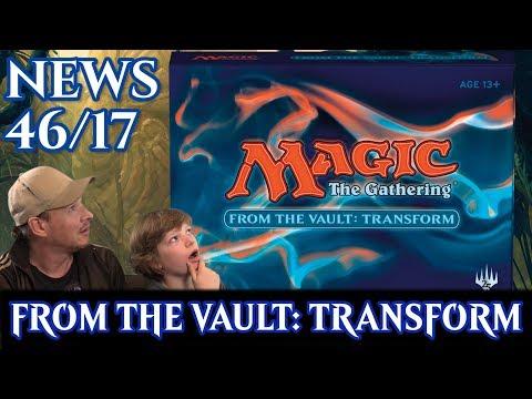 Magic News 46 From the Vault: Transform deutsch traderonlinevideo MTG Trader TOV
