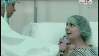 دكتور بشار البزره في برنامج تلفزيوني يقدم سكرتيرته على انها مريضه وعالجها