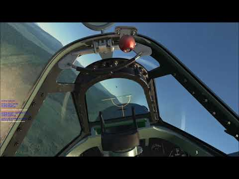 [DCS Game-play] Spitfire vs Jet