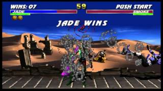 Ultimate Mortal Kombat 3 - Jade (Arcade)