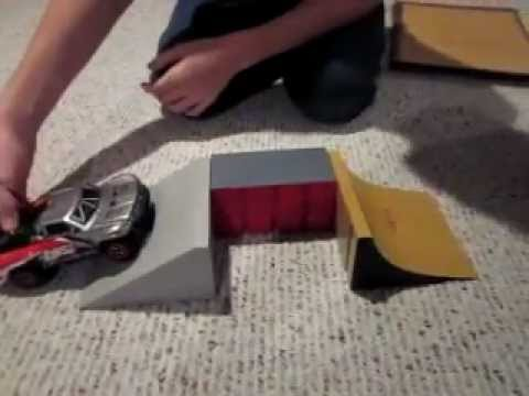 how to make simple rc car ramps youtube. Black Bedroom Furniture Sets. Home Design Ideas