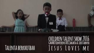 Children Talent Show 2016 (Jesus Loves Me) part 2