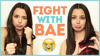 FIGHTING WITH YOUR BOYFRIEND w/ The Merrell Twins