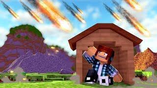 Minecraft: SOBREVIVA AOS DESASTRES NATURAIS !!