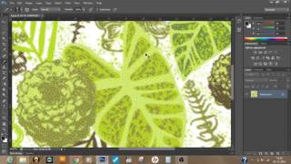 Making Color Halfton Screen in Photoshop Tutorial in Hindi