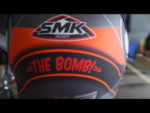 Best helmet under 5000 rupees ! SMK helmet