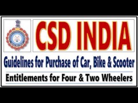 GST Rates Clarification on CSD Four/Two Wheeler