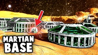 Building a SPACE BASE Fort on MARS! (Memories of Mars Gameplay Part 1)