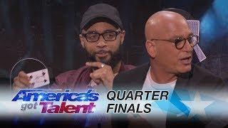 Eric Jones: Magician Shocks Judges With Unbelievable Card Trick - America's Got Talent 2017