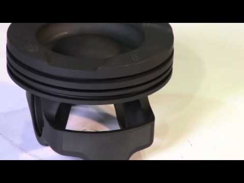 Chromoly Monotherm® Piston For The GM Duramax  From MAHLE Motorsports ID13130