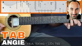 """Guitar Cover / Tab """"Angie"""" by MLR-Guitar"""