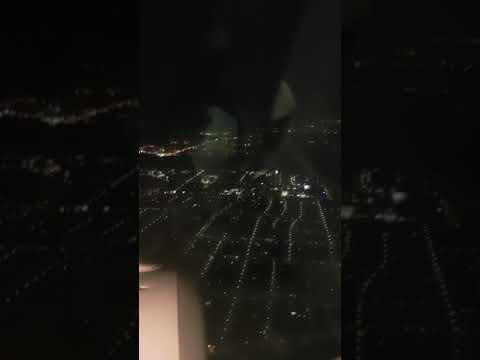 Landing At Frankfurt 21/01/2018 Flying From Aberdeen UK