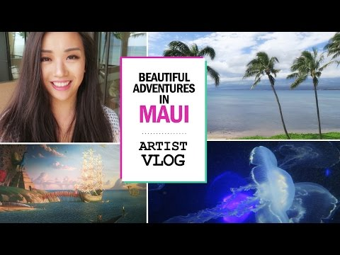 Beautiful adventures in Maui // ARTIST VLOG 21