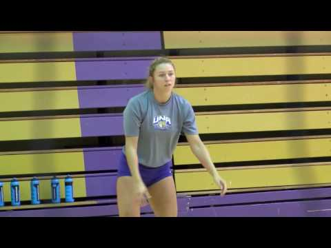 University of North Alabama 2016 Volleyball Practice August 18, 2016