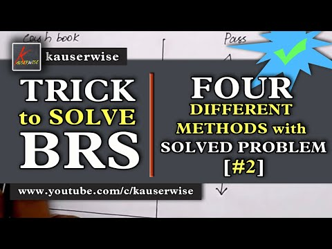 Bank Reconciliation Statement #2|[Four types of solved Problems]|using simple LOGIC :-by kauserwise