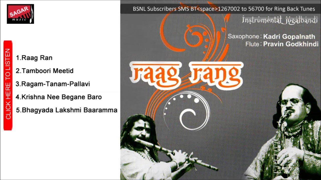 Raag Rang-Malkauns-Adi Tala - Kadri Gopalnath & Pravin Godkhindi