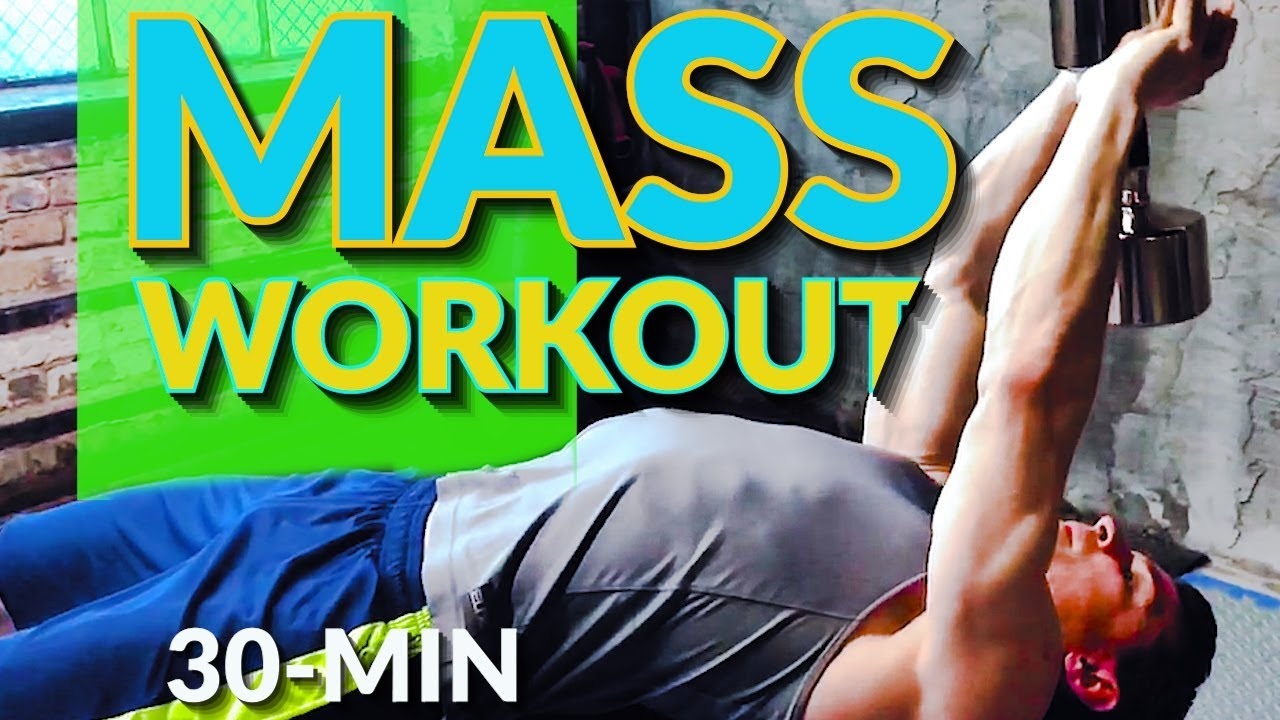 30-Min Power Strength Workout With Dumbbells (Mass Building)