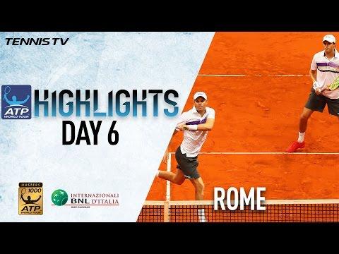 Bryans Prevail Over Klaasen/Ram In Rome 2017 Highlights