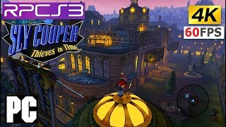 PS3 Sly Cooper 4 Thieves in Time in 4k (4480x2520) PC RPCS3 emulator
