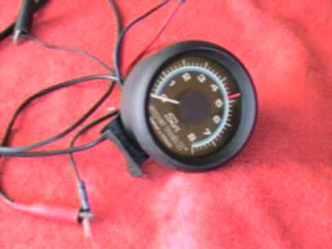 hqdefault vintage sun super tach ii 8000 rpm youtube sun super tach 2 mini wiring diagram at soozxer.org