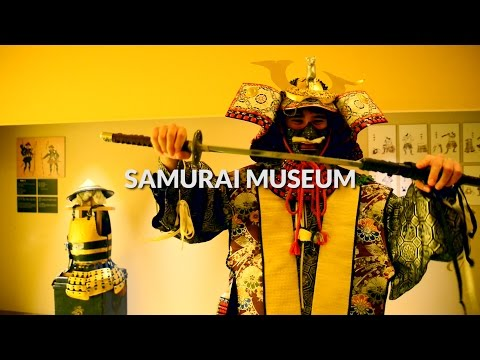 Samurai museum with comment, TokyoJapan Travel Guide