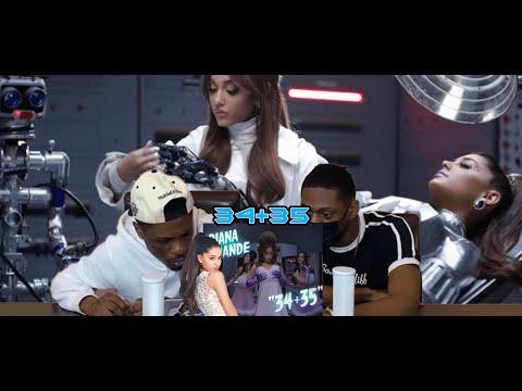 Ariana Grande - 34+35 (official video)Reaction!!!