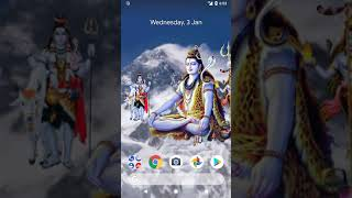 4D Shiv Android mobile App, Live Wallpaper screenshot 4