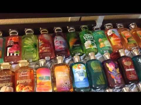 My Bath & Body Works Shower Gel collection!