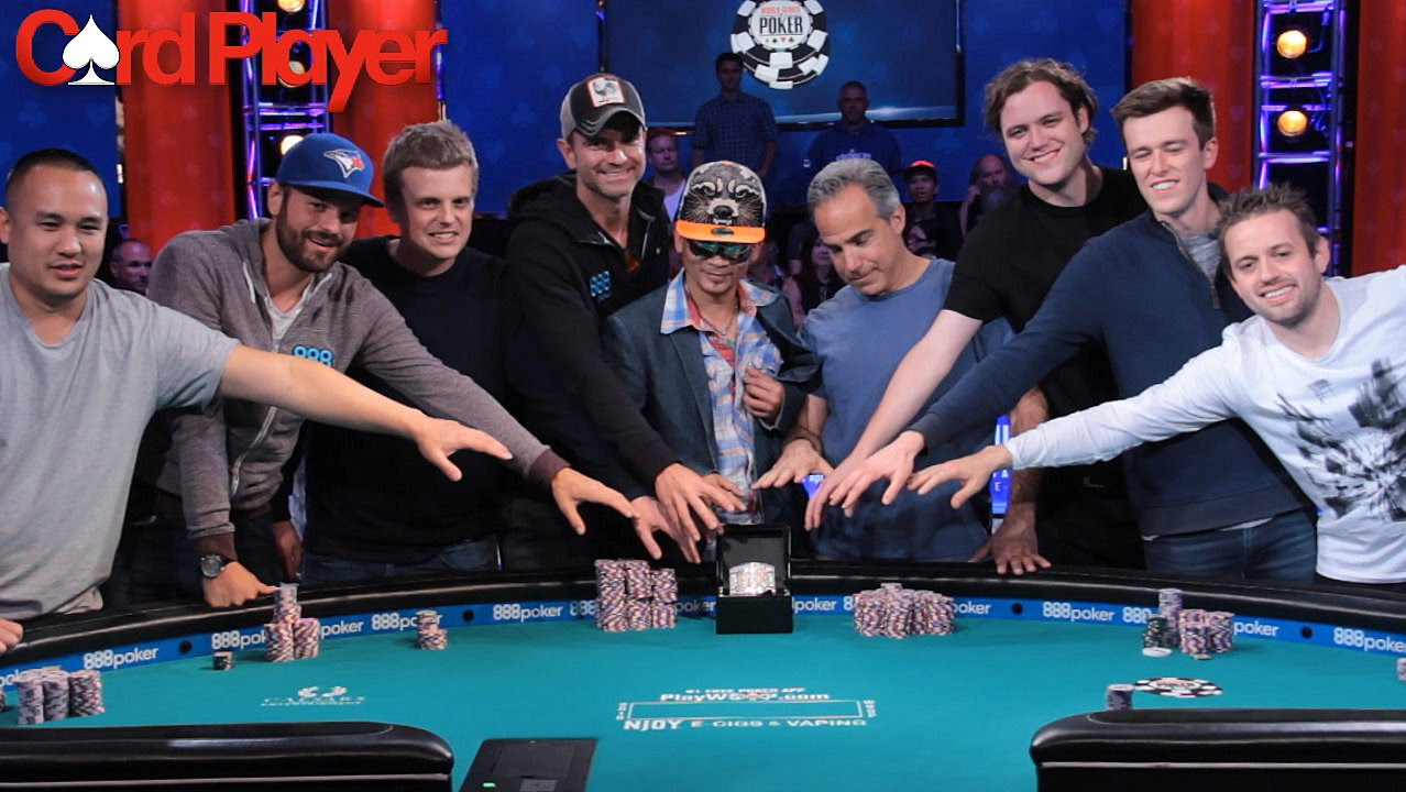 Wsop 2021 Final Table